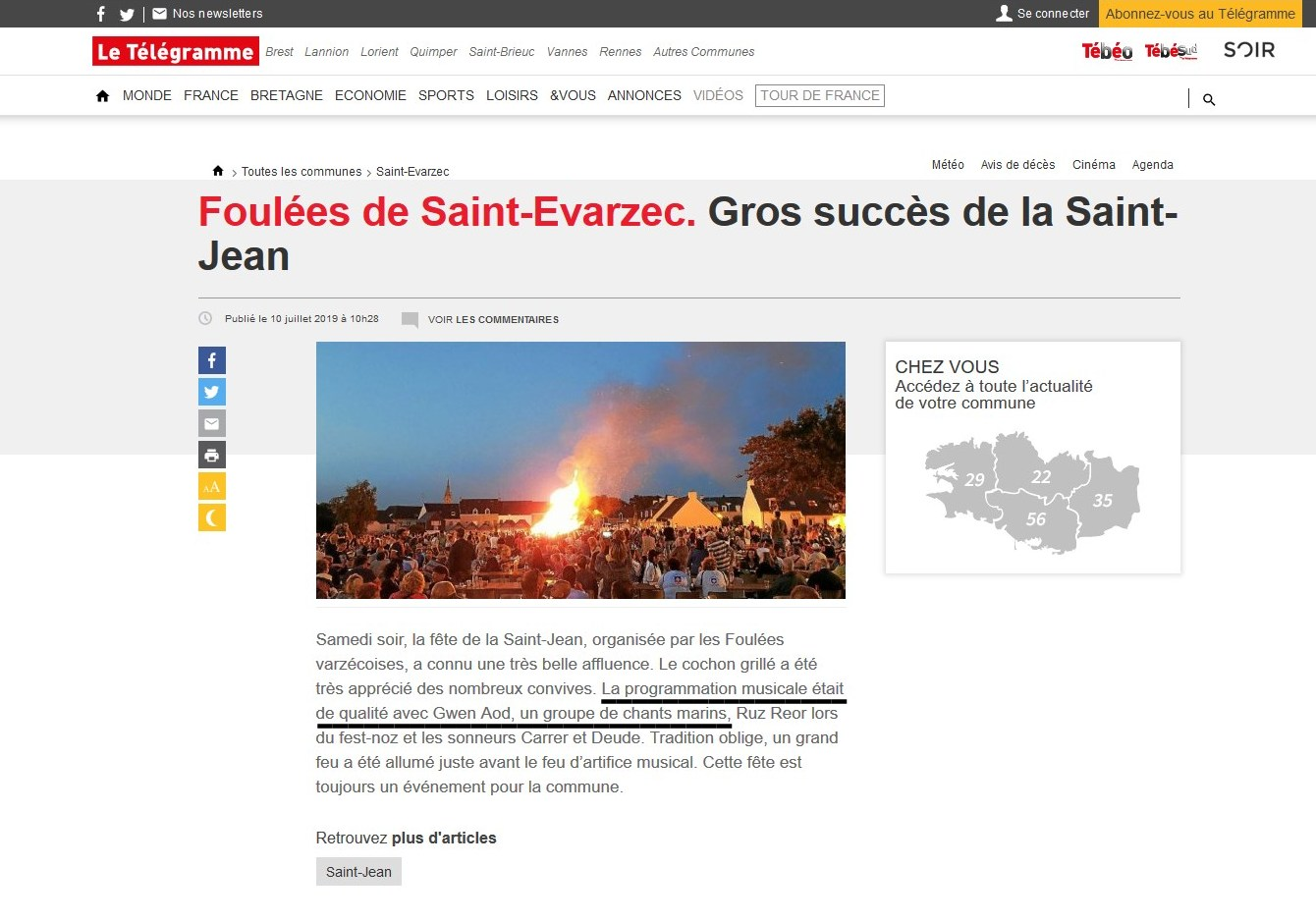 Saint Evarzec 2019