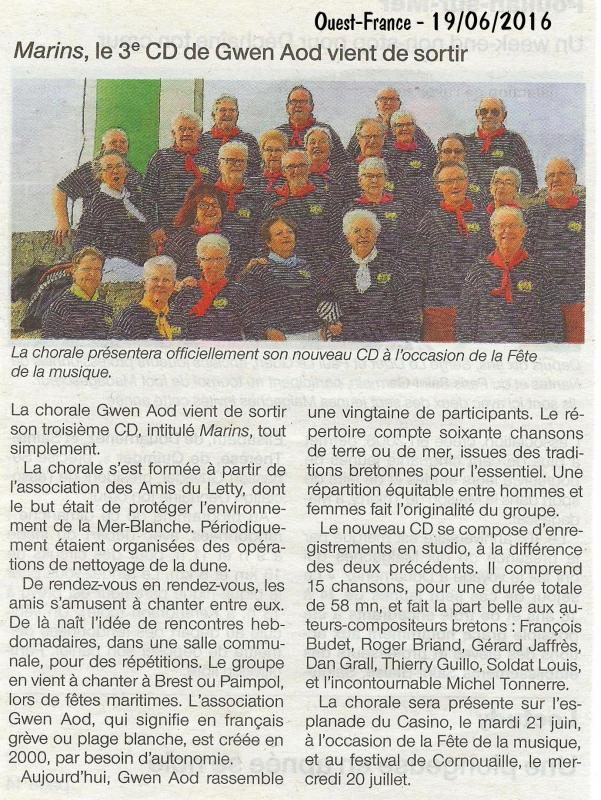 Ga ouest france 19 06 2016