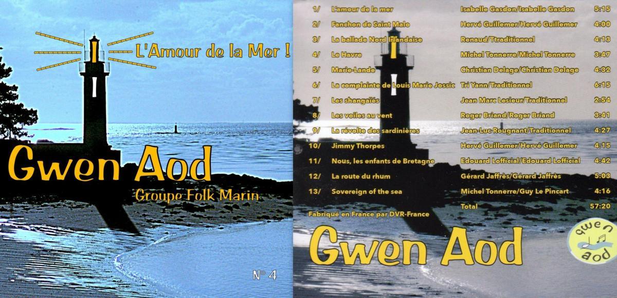 Gwen aod cd 2018