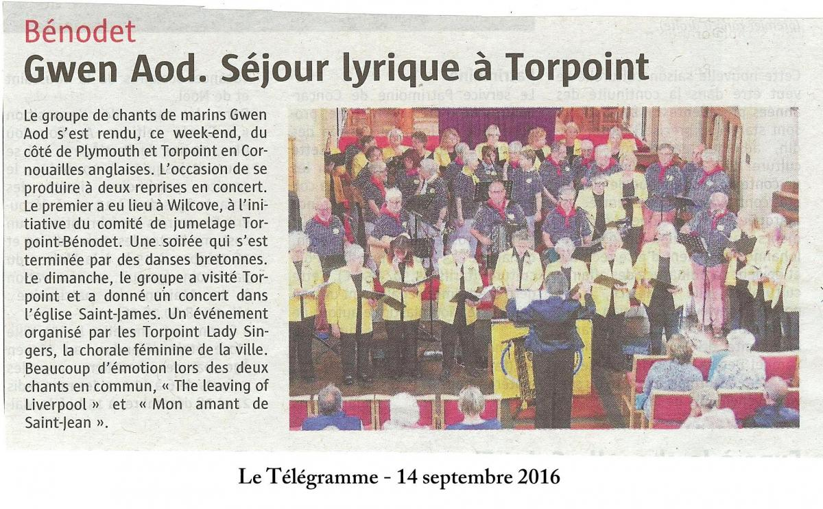 Torpoint le telegramme
